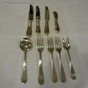 Lot And Co Salem Sterling Silver Flatware 9 Serving Pieces