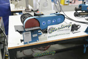 2 X 40 Used Demo Machinery Baileigh Combination Belt And Disc Grinder Mdl. D
