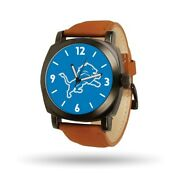 Nfl Detroit Lions Mens Knight Watch By Rico Industries Style Xwm2883 42.90
