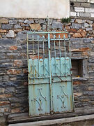 Beautiful Antique Iron Gate With Two Doors