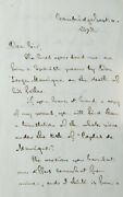 Henry Wadsworth Longfellow / Autograph Letter Signed