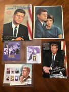 The Story Of Jfk Book By Earl Schenck Miers/post Card And Stamps Collectibles