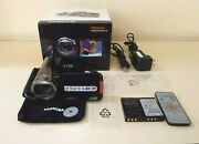 Toshiba Camileo X100 Full Hd Camcorder With Accessories Parts Or Fix