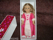 American Girl Elizabeth Doll With Outfit, Book, Brush And Comb