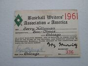 1961 Roger Maris Ticket Pass 61 Hr Tops Babe Ruth Yankees Clinch Pennant/mantle