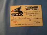 1977 Chicago White Sox Ticket Pass Jack Morris Debut/first K/2478 Life Detroit T