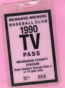 1990 Frank Thomas Debut/first Gm/first Hit Ticket Pass Chicago White Sox Ex
