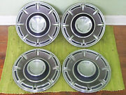 70 71 72 Ford Hub Caps 14 Set Of 4 Wheel Covers 1970 1971 1972 Hubcaps