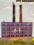 O Scale Scratch Built Big Heinz Factory Pittsburgh Building Front Mth Lionel