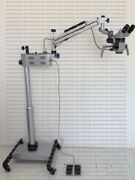 5 Steps Dental Surgical Microscope With Led Light Source And Accessories