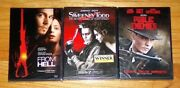 3 Johnny Depp New Dvd's Sweeney Todd The Demon Barber/from Hell/public Enemies