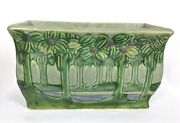 Roseville Pottery 12 Vista Or Forest 363-12 Handled Window Box Circa 1922