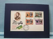 Alexander Graham Bell And 100th Anniversary Of The Telephone And First Day Cover