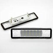 2x Opel Astra F G Tigra Vectra B Led Smd Module License Plate Light