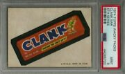 1974 Topps Wacky Packages Clank Bar 5th Series Psa 9 Mint Card Low Pop
