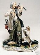 Capodimonte Laurenz Collection Wandering Violinist Enzo Arzenton Made In Italy