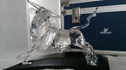 Crystal Bull Stier Numbered Lim-ed 2004 Art No 628483