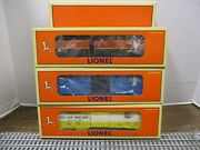 Lionel 29209 6464 Box Car Series Vii Set Gn, Timken And Bandm Boxcars 1998