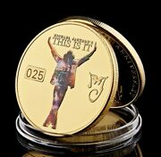 The King Of Pop Music | Michael Jackson | This Is It | Gold Plated Coin