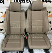 2011-2019 Jeep Grand Cherokee Laredo Beige Katzkin Leather Seat Cover Kit New