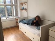 Ikea - Single Bed, Double Bed, Sofa. With Storage. White. 2000 Dkk.