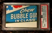1973 Topps Wacky Packages Gadzooka Gum Puzzle Bottom Middle 1st Psa 9 Mint Card