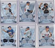 Your Choice 2011 Bowman Sterling Usa Rookiie Relics Brian Johnson,henry Owen+