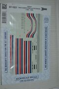 Microscale Decal 87-1021 Amtrak Dash 8-40bw P40 And P42 Diesels 1996-1999
