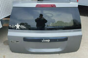 2013 Jeep Patriot Sport Rear Lift Gate Hatch Door With Hydrolics And Struts