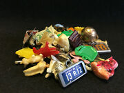 Vtg Celluloid Cracker Jack Gumball Toy Charms Prizes Lot