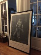 Herb Ritts - Fred With Tires - 1987 - Rare Grande Affiche Vintage 106cm 146cm