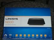 Linksys E2500 N600 300 Mbps 4-port 10/100 Wireless N Router New