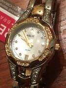 Relic Womenand039s Charlotte Quartz Stainless Steel And Ceramic Dress Watch