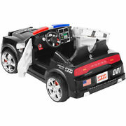 Dodge Charger Pursuit Police Cruiser 12-volt Battery-powered Ride-on Car Kid Toy