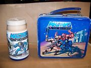 Vintage Masters Of The Universe Lunchbox With Thermos Aladdin 1983 Motu