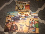 Vintage 1946 Terry And The Pirates Jaymar Jigsaw Puzzle W Box Complete