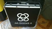 Ar Drone Transport Hard Carrying Case Fit Indoor Hull Quadcopter. Rust