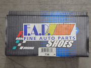 Brand New Fdp 736 Rear Brake Shoes Fits Vehicles On Chart W/ 9 Brakes
