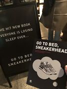 """Adidas Book """"go To Bed, Sneakerhead"""" Nyc Rare Limited Edition Release"""