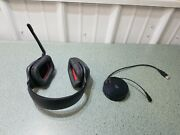 Logitech G930 Black Over The Ear Headset With Usb Charging Base / Untested