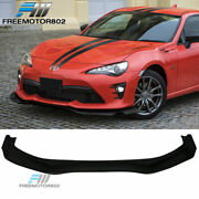Fits 17-19 Toyota 86 Coupe Gr Style Front Bumper Lip Pu