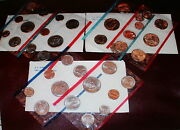 3 Uncirculated Coin Sets 1979 1980 1981 Thirty Six Coins With 6 S B Anthony