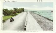 Old Vintage Lake Drive At Lincoln Park In Chicago Illinois Postcard