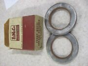 Nos 1957 57 Ford Truck Front Wheel Bearing Grease Seals B7t-1190-a Pair