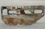 Omc Outboard Marine Corp Boat Exhaust Manifold Plate Part No. 317215