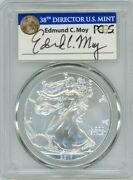 2017 1 Silver Eagle 225th Anniversary First Strike Ms70 Pcgs Ed Moy 1 Of 1433
