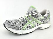 Asics Gel 1170 T1p5n Lime Green Silver Superfeet Insoles Sneakers Us 9.5 Eu 41.5