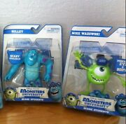 Discontinued Disney Pixar Monster University Scare 2 Figurines/cake Toppers New