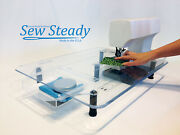 Janome Ultimate Deluxe Sew Steady Extension Table Package 18x24 With Travel Bag