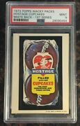 1973 Topps Wacky Packages Hostage Cupcakes 1st Series White Back Psa 9 Mint Card